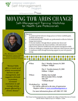 Moving Towards Change--Health Care Professional Event--Cambridge-- January 14+15, 2019- Guelph, ON